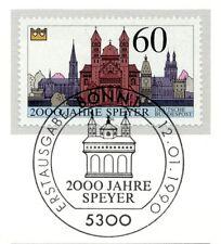 BRD 1990: Speyer 2000 Jahrfe! Nr 1444 mit Bonner Ersttags-Sonderstempel! 1A 1812