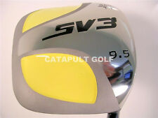 NEW MEN SQUARE DRIVER GOLF CLUBS WOOD GRAPHITE 9.5D 597