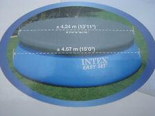 1 INTEX Abdeckplane Poolplane 457 Easy Pool Abdeckung Plane Poolabdeckung 28023