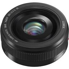 Lumix G H-H020AK 20mm F/1.7 II ASPH Lens for Panasonic (Black) New