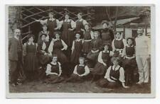 FROM LEIGHTON BUZZARD COLLECTION, SENIOR GIRL GROUP & TUTORS, RP.