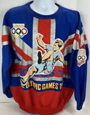 Vintage Adidas Pullover Mens Size Large Shirt Olympic Games London 1908 1948