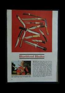 Bo Randall Hunting Knife Knives 1969 full page Ad