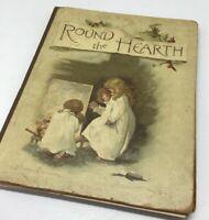 Round the Hearth by Robert  Mack  Illustr. Harriett M. Bennett 1889 Lithos