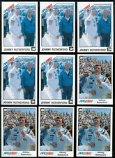 1983 1984 A&S Racing PPG Indy Cards - Johnny Rutherford - Fort Worth, Texas R122