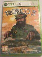 ORIGINAL PAL BOXED XBOX 360 GAME TROPICO 3 / III