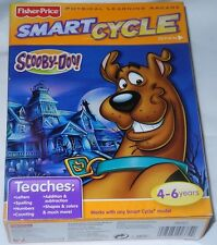 Fisher Price Smart Cycle Physical Learning Arcade SCOOBY-DOO Game 4-6 years