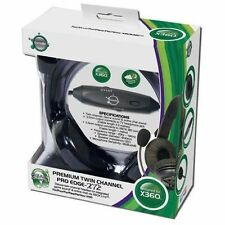 GameOn Auriculares C/ Micrófono Pro Edge , Canal doble Para Xbox 360, PC y TV