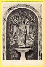 cpsm Rare 45 - VIGLAIN SANCTUAIRE en EMAUX Vierge en BOIS Sculpté du 17° siècle
