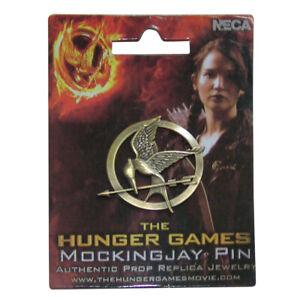 The Hunger Games Katniss Everdeen Cosplay Prop Brooch Badge  Mockingjay Pin #E99