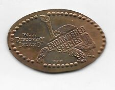 DISNEY WDW CLOSED DISCOVERY ISLAND ENDANGERED SPECIES TORTOISE PRESSED PENNY