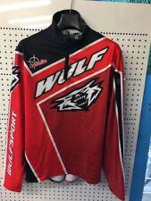XL ADULT Red BLACK WHITE Wulf Sport TRIALS Shirt / Top Xl Crossfire