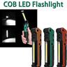 Hot Rechargeable COB LED Slim Work Inspect Light Lamp Flashlight Folding Torch