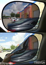 2 PC Static Cling Sun Shade Window Shield Cover Visor Black No Suction Cups Req
