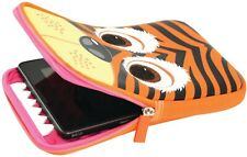Tabzoo 8-Inch Universal Tablet Sleeve, Tiger Design