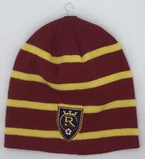 299abb9fa5d MLS Real Salt Lake Adidas Cuffless Winter Knit Hat Cap Beanie Style NEW!