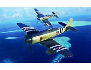 Plastic Kit Trumpeter Hawker Sea Fury FB.11  1:72