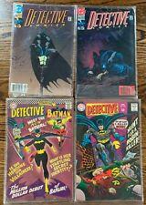 LOT OF DETECTIVE COMICS COMIC BOOKS--4 IN TOTAL--DC COMICS--359, 374, 632, 634