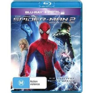 SPIDERMAN 2 - Rise Of Electro (Blu-ray, 2014) NEW SEALED
