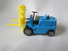 1978-85 Yatming Blue FORK LIFT Vehicle #1366 Made in Hong Kong (Mint)