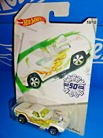 Hot Wheels 2019 Wal-Mart Larry Wood 50th Series 10/10 Rodger Dodger White