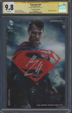 Superman #50 photo cover variant__CGC 9.8 SS__Signed by Henry Cavill RARE