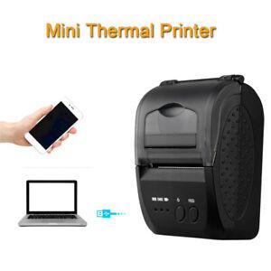 Portable 58mm Mini Bluetooth USB Thermal Printer Receipt Machine fits Android