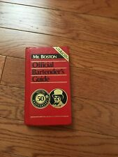 Mr. Boston Official Bartender'S Guide - 50Th Anniversary - First Printing