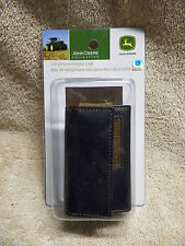 1 X 2 1/5 X 3 3/4 JOHN DEERE COLLECTION LEATHER CELL PHONE /MEDIA CASE LICENSED