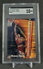 1997-98 Topps Finest #271 Michael Jordan SGC 10 Bulls