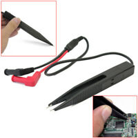 SMD Testing Clip Probe Tweezer for Multimeter Meter Capacitor Resistor