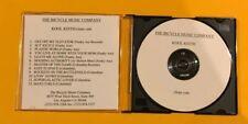 KOOL KEITH ~ CLEAN CUTS  US 12 TRACK BICYCLE MUSIC ACETATE/TEST PRESSING CD M-