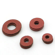 1000Pcs M2/M2.5/M3 Red Insulation Gaskets Flat Spacer Washers Red Washer