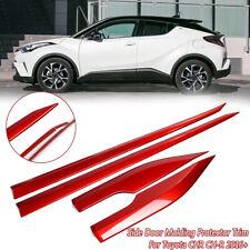 Strip Streamer Lid Body Side Door Molding Protector Trim For Toyota CHR