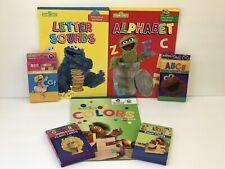 7 Abcs Phonics Colors Workbooks + Flashcards Preschool Kindergarten Home School