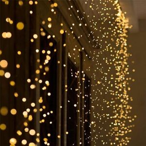 LED Copper Wire String Fairy Light Strip Lamp Xmas Party Wedding Party Decor