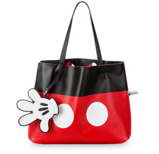 Disney Parks Mickey And Minnie Mouse Reversible Tote Bag New with Tags Authentic
