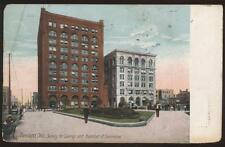 Postcard CLEVELAND OH Chamber of Commerce Bldg 1907?