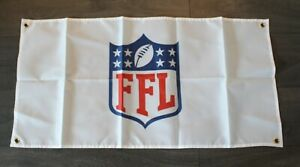 New Fantasy Football League Banner Flag  FFL Perfect for Gameday Watch Party