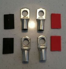 4 x CABLE LUG COPPER SC25-8 to suit 25mm2 CABLE 3B&S (8mm hole)