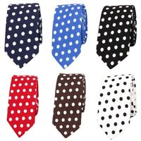 Men's Tuxedo Polka Dots 6CM Neck Ties Wedding Party High Quality Formal Tie