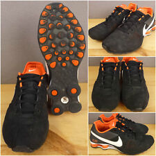 Nike Shox Mens Shoes Deliver Running Sneakers Black White Orange 317547-061 10