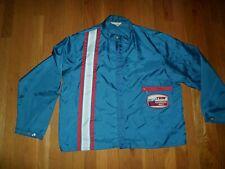 VTG Racing Car Stripe Blue Jacket 1970s TWR Performance Parts Patch Men XL