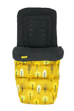 Cosatto Universal Footmuff Cosytoes & Seat Liner Spot The Birdie