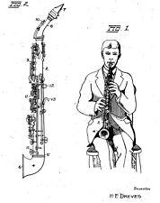 Altes, antikes Saxophon: Geschichte, histor. Dokumente 1901 - 1960
