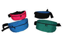 Fanny pack medium size assorted colors in Cordura 1000 denier Made in USA.