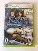 Blazing Angels: Squadrons of WWII (Microsoft Xbox 360, 2006)  CIB