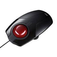 F/S SANWA SUPPLY MA-TB41BK PC Trackball Mouse USB BLACK from JAPAN NEW