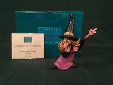"""WDCC Trick or Treat - Witch Hazel """"Brewing Up Trouble"""" + Box & COA"""