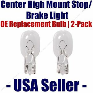 Center High Mount Stop/Brake Bulb 2-pack fits Listed Asuna Vehicles - 921